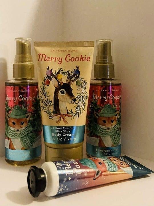 bbw Merry Cookies Travel Size set of 4