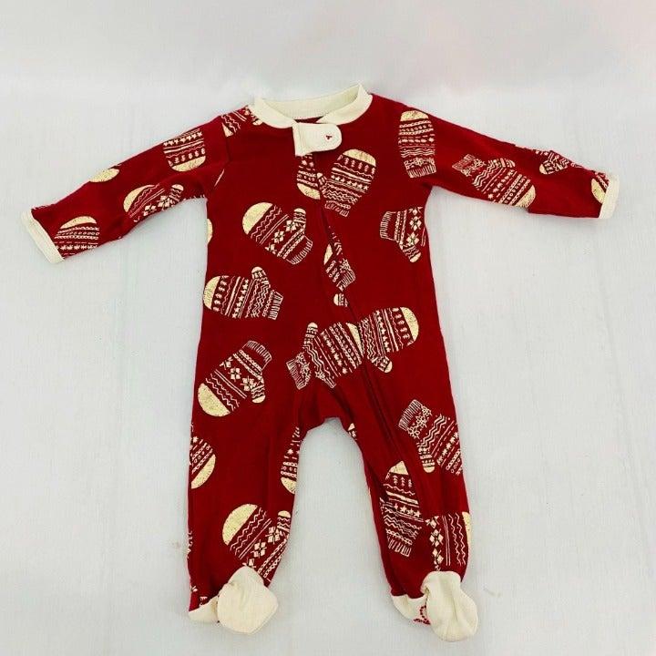 Burt's Bees Baby Norwegian Mitt Sleep & Play Footie Pajamas 0-3M