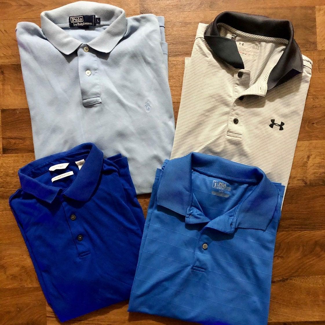 Mens golf shirt bundle