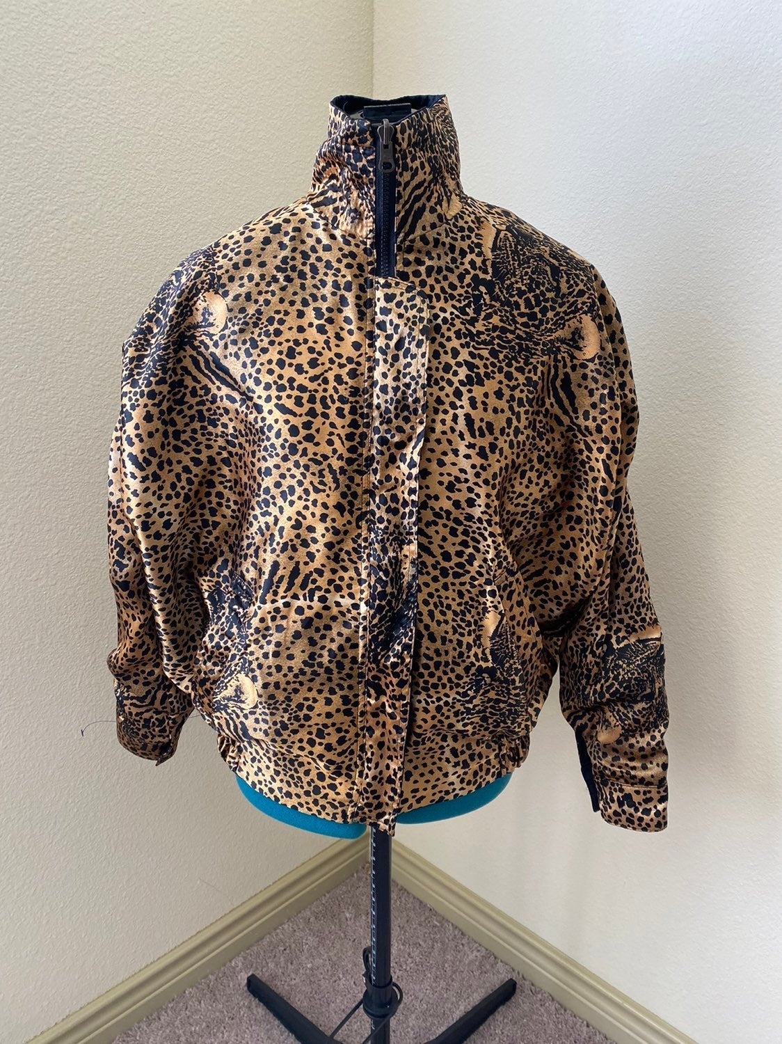 Leopard Reversable Jacket