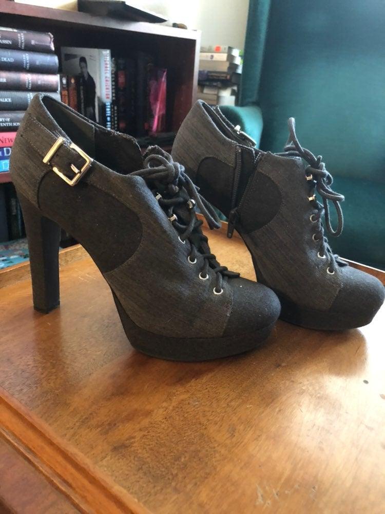Gray Gianni Bini Heels Size 7.5