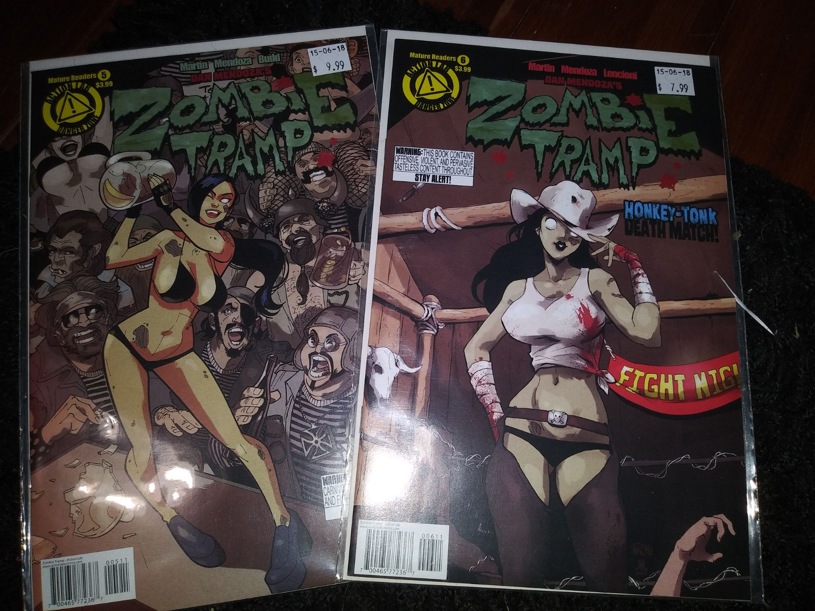 Zombie Tramp Issues 5, 6 and 11 special