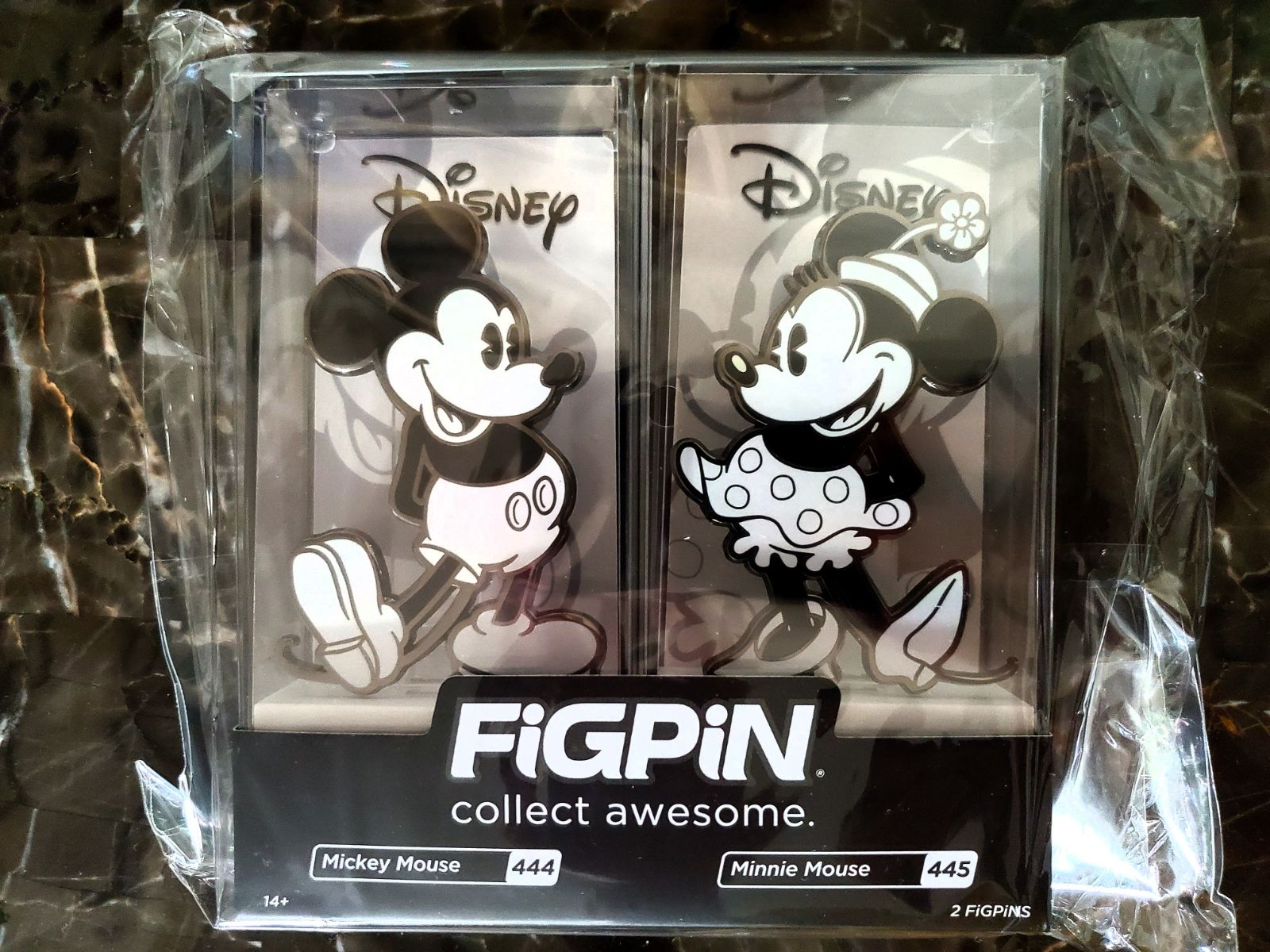 Figpin Mickey & Minnie Mouse 2 Pack