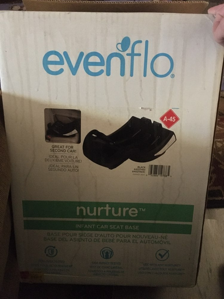 Evenflo infant car seat base