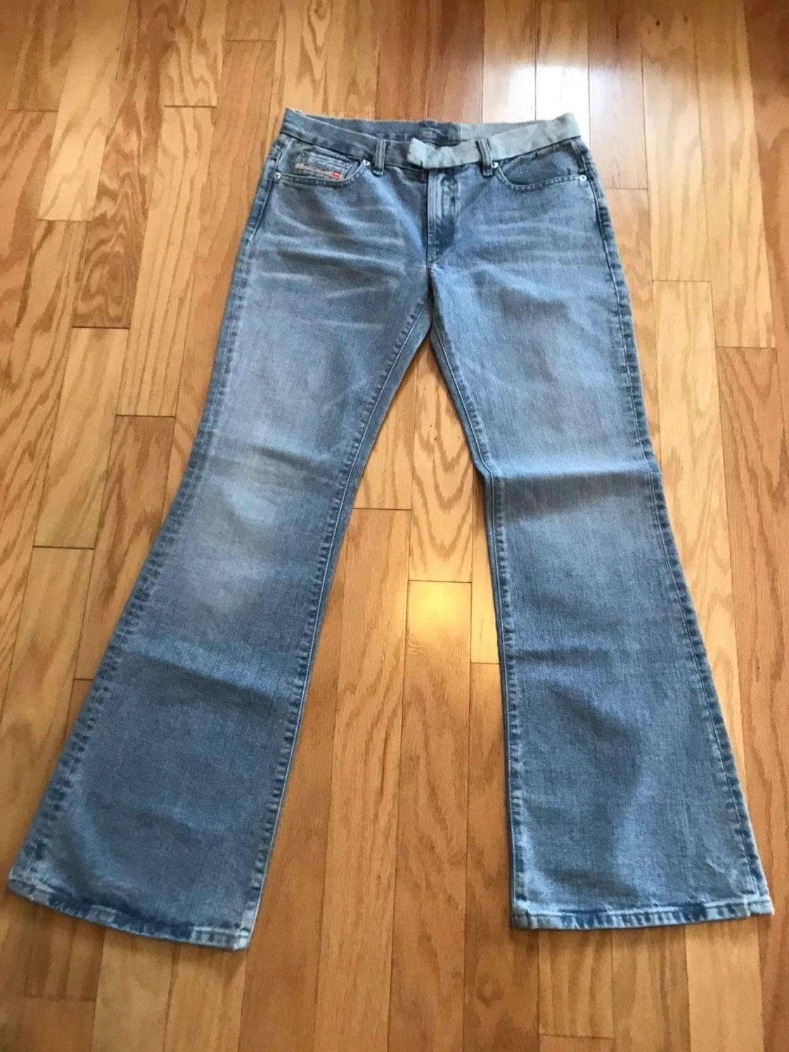 Misses Diesel Flare Jeans