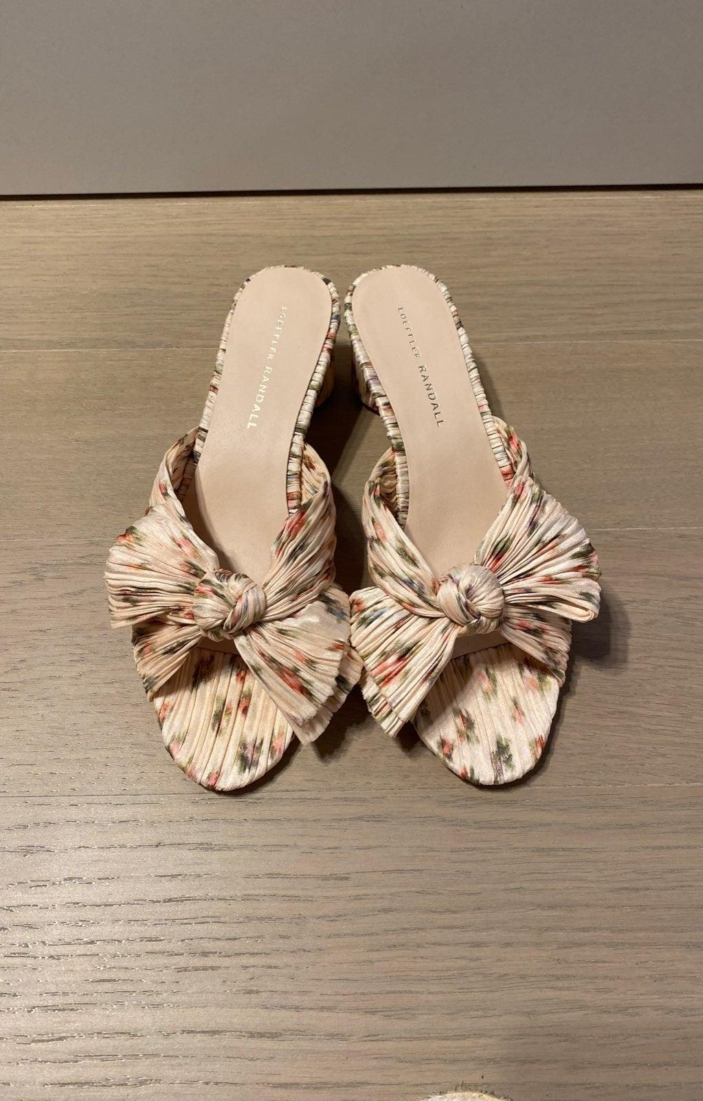 Loeffler Randall emilia sandal brand new