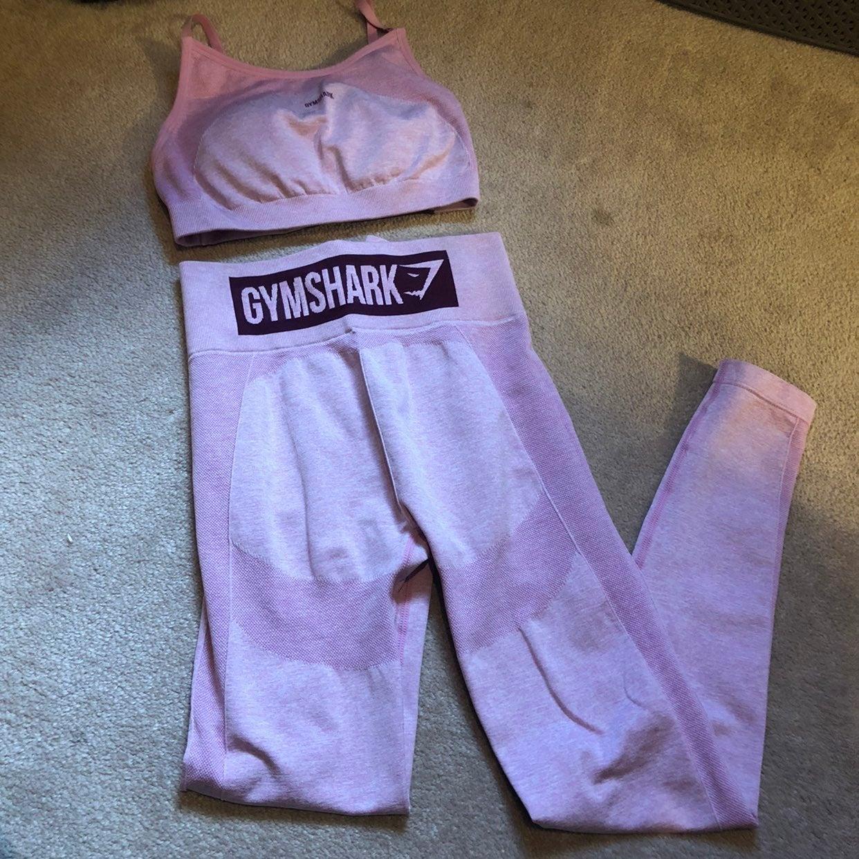 Gymshark Pink Flex Set
