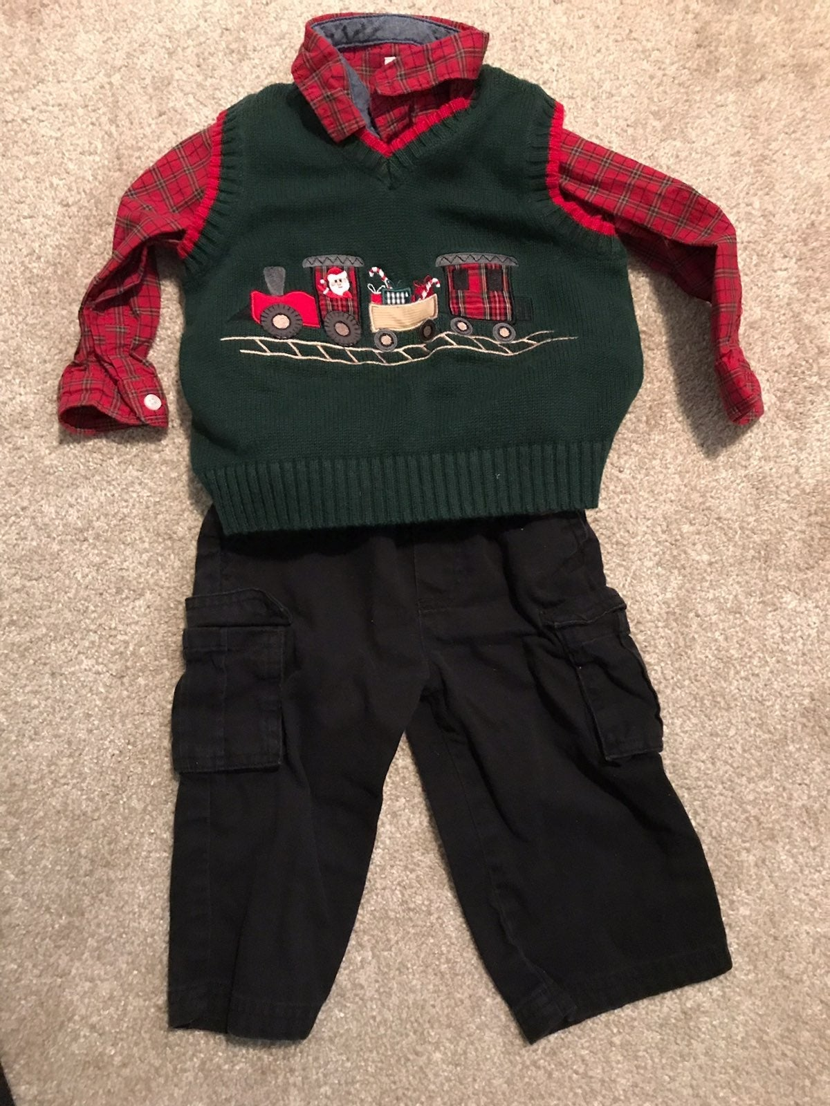 Toddler boy christmas