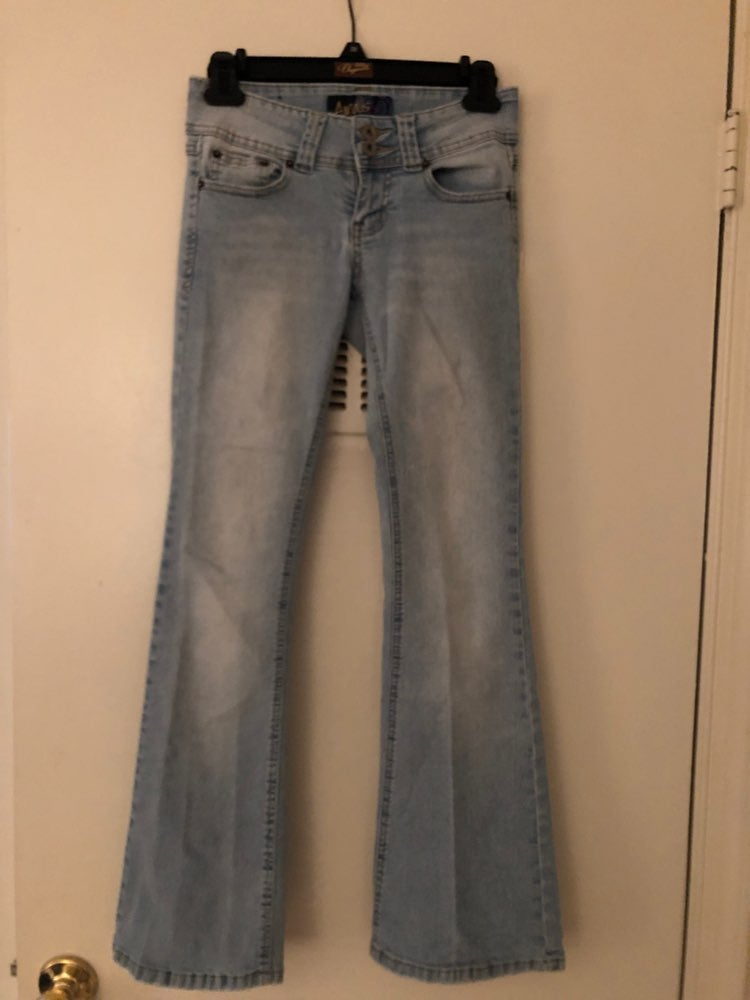 Women's Angels flare Jeans, Size 3 short