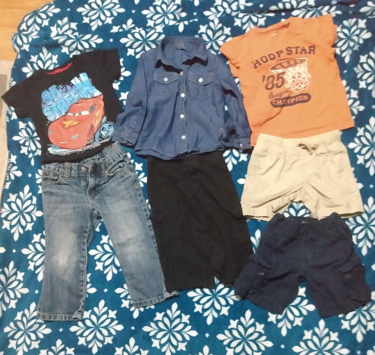 Boys clothes bundle 2t