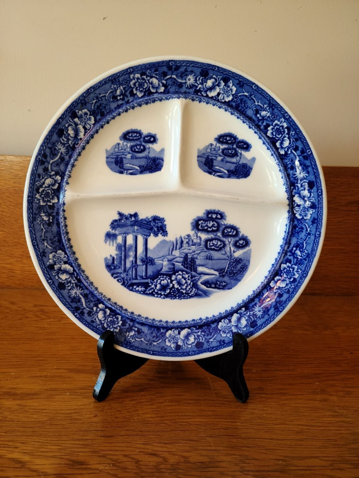 Warwick Tudor Rose Divided Grill Plate