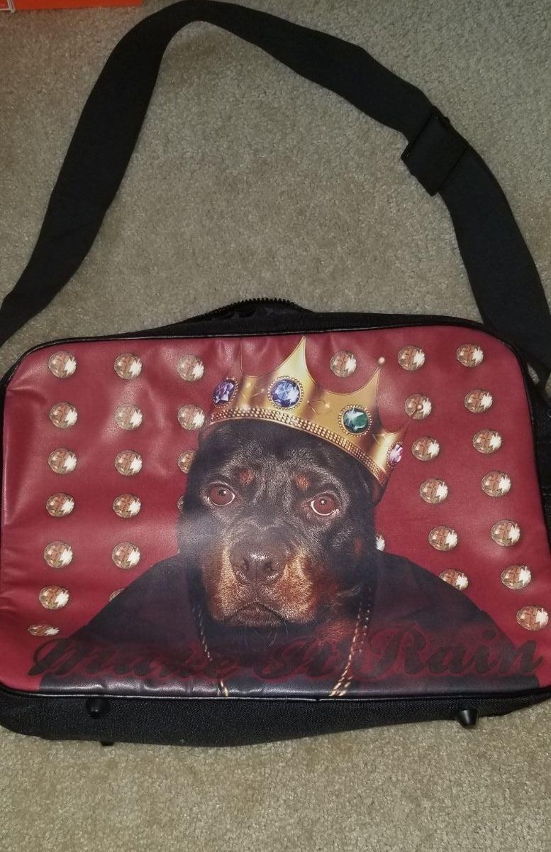 Rottweiler briefcase bag King Pets Rock