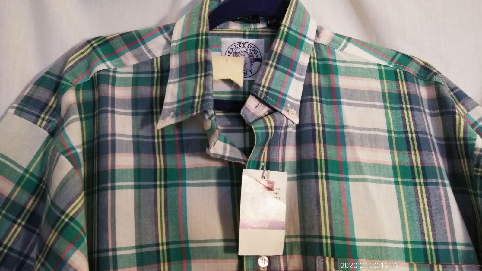 New! Gant Salty Dog long sleeve shirt