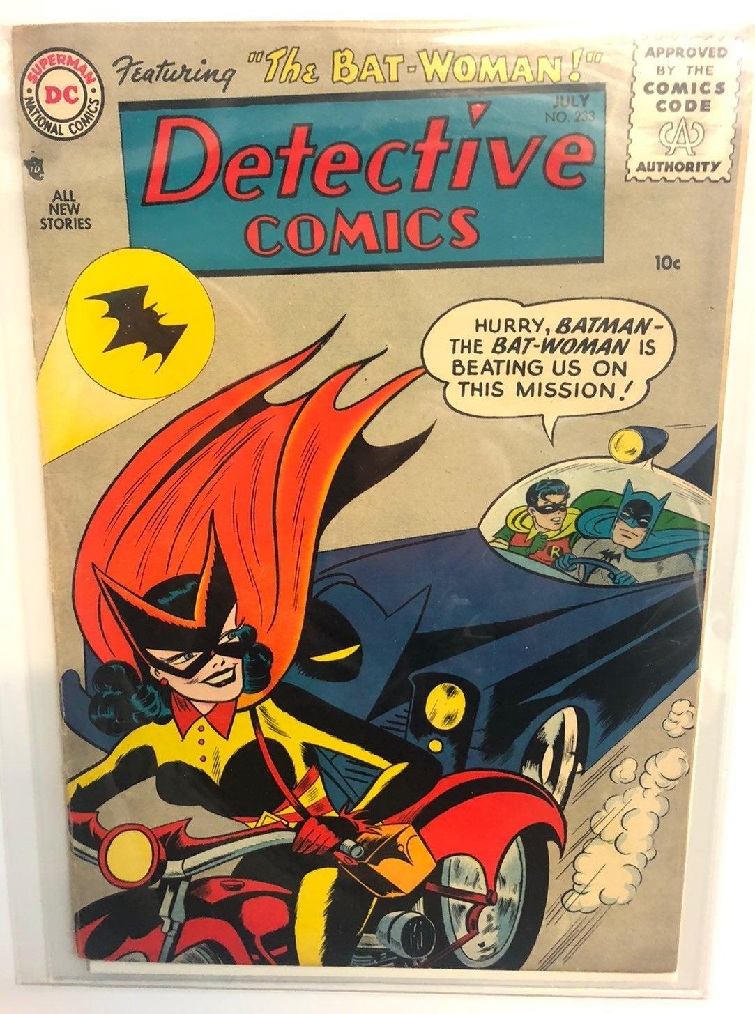 Detective Comics July #233 F/A Bat Woman