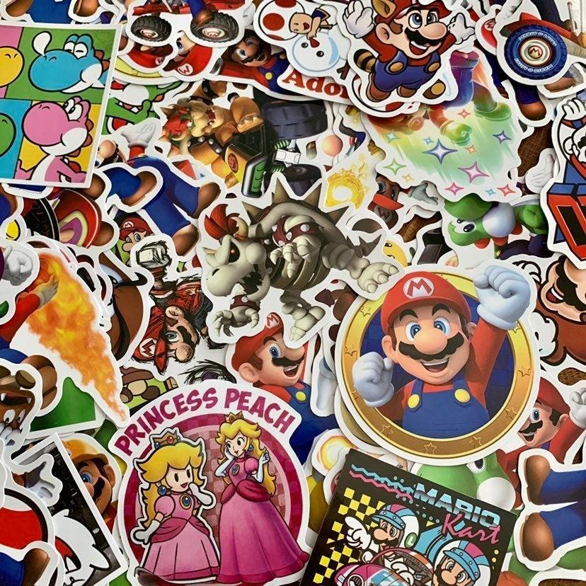Pack of 20 Super Mario Nintendo Stickers