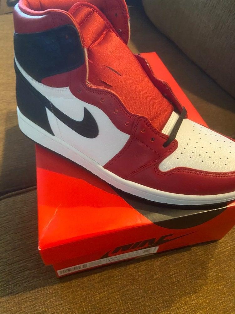 Nike jordan 1 satin snakeskin men 9.5