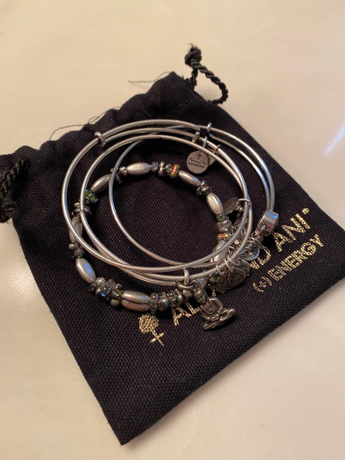 Bundle of 4 Alex and Ani Bracelets