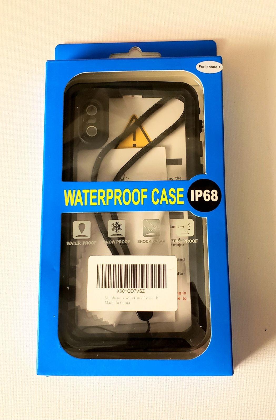 IphoneX Water Dirt Snow Shockproof Case
