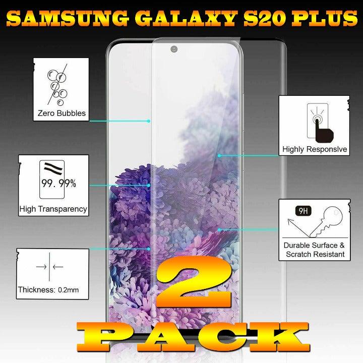 2-PACK S20 Plus Premium Tempered Glass