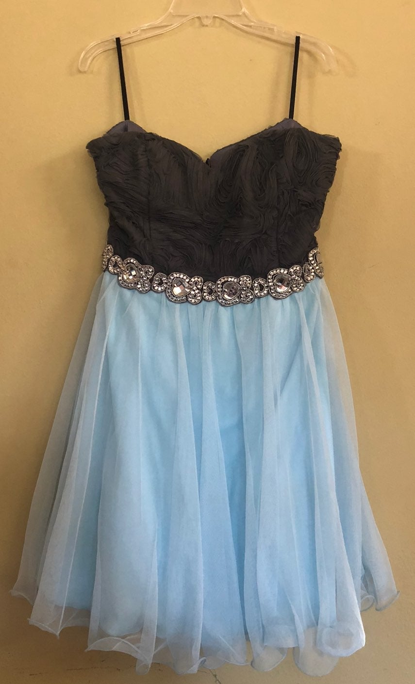 strapless formal party dress size 13