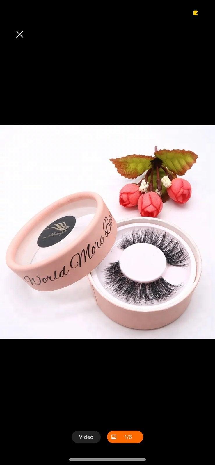 Mink Eyelashes (4 sets)