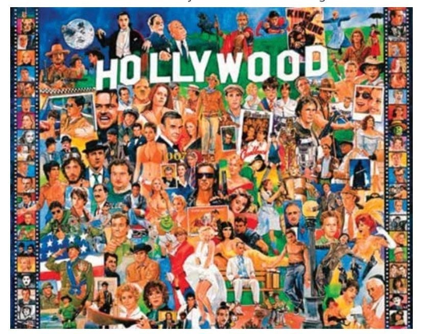 Hollywood (1000 piece puzzle)
