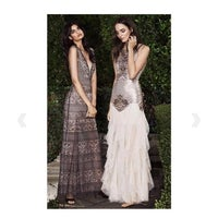 208374dd5cf8 Aurora Embroidered Tulle Gown
