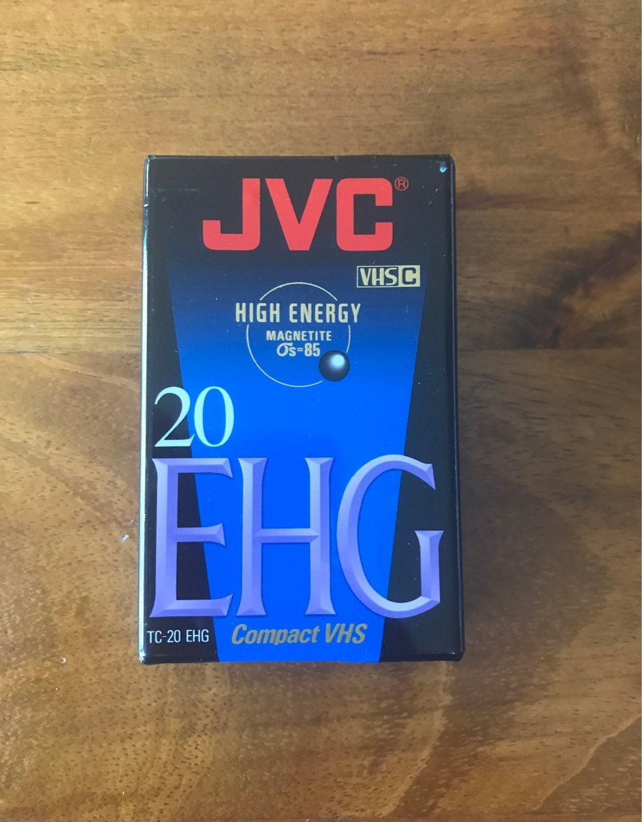 JVC compact VHS tape