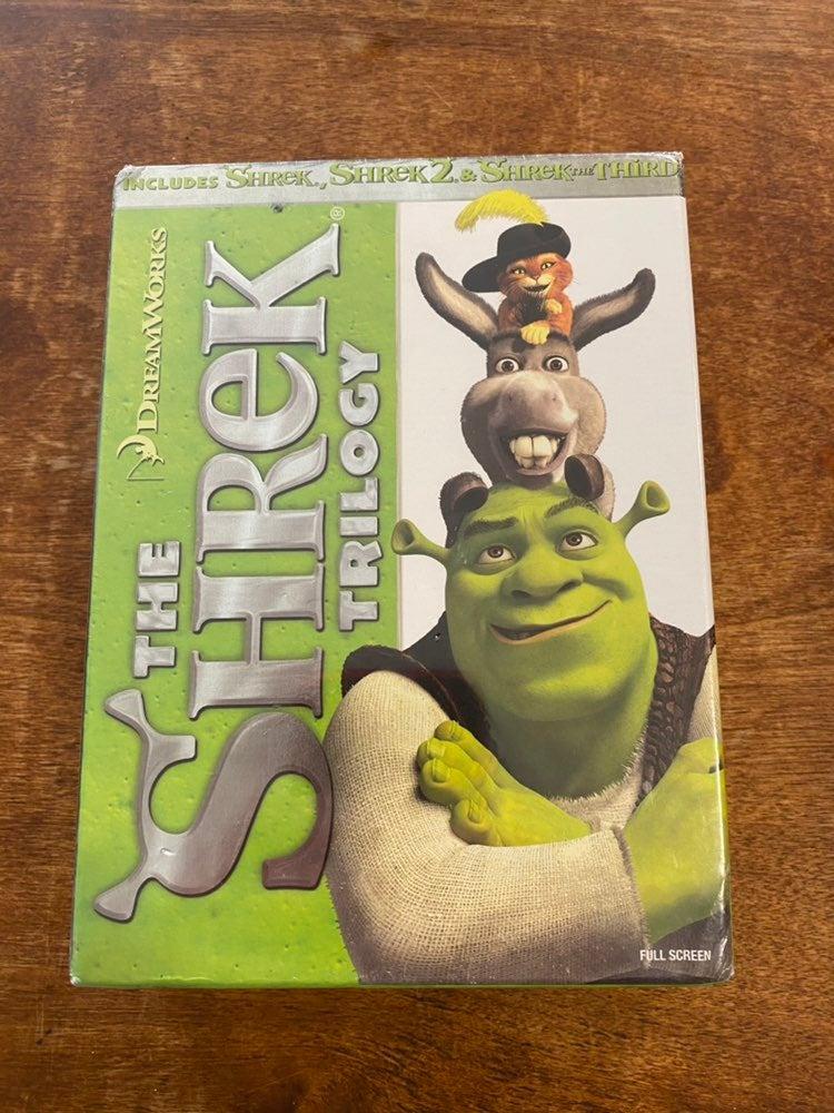 Shrek The Trilogy DVD Set New Sealed