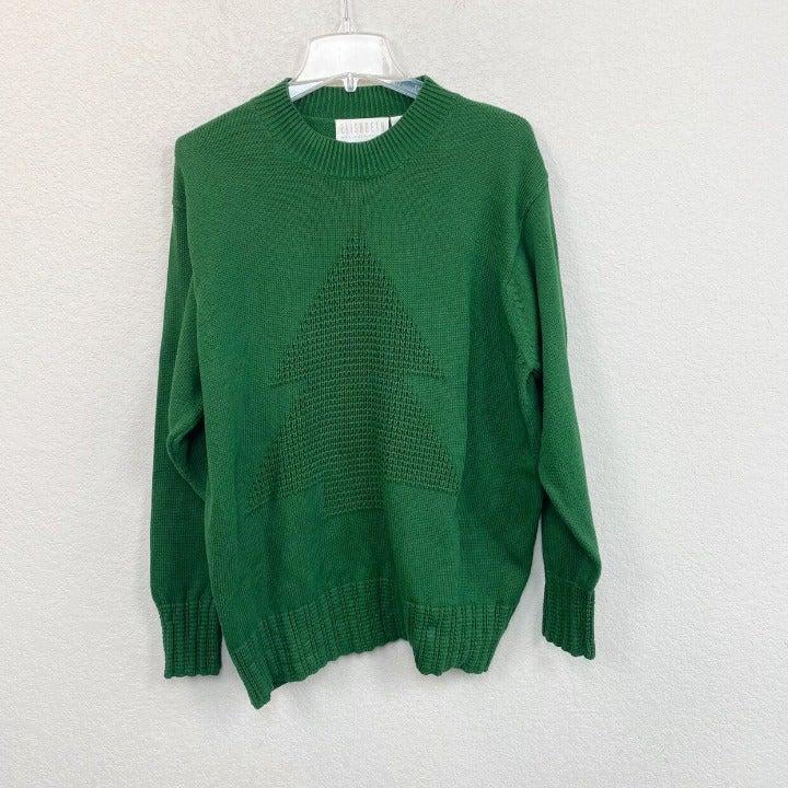 VTG Elisabeth Liz Claiborne Tree Sweater