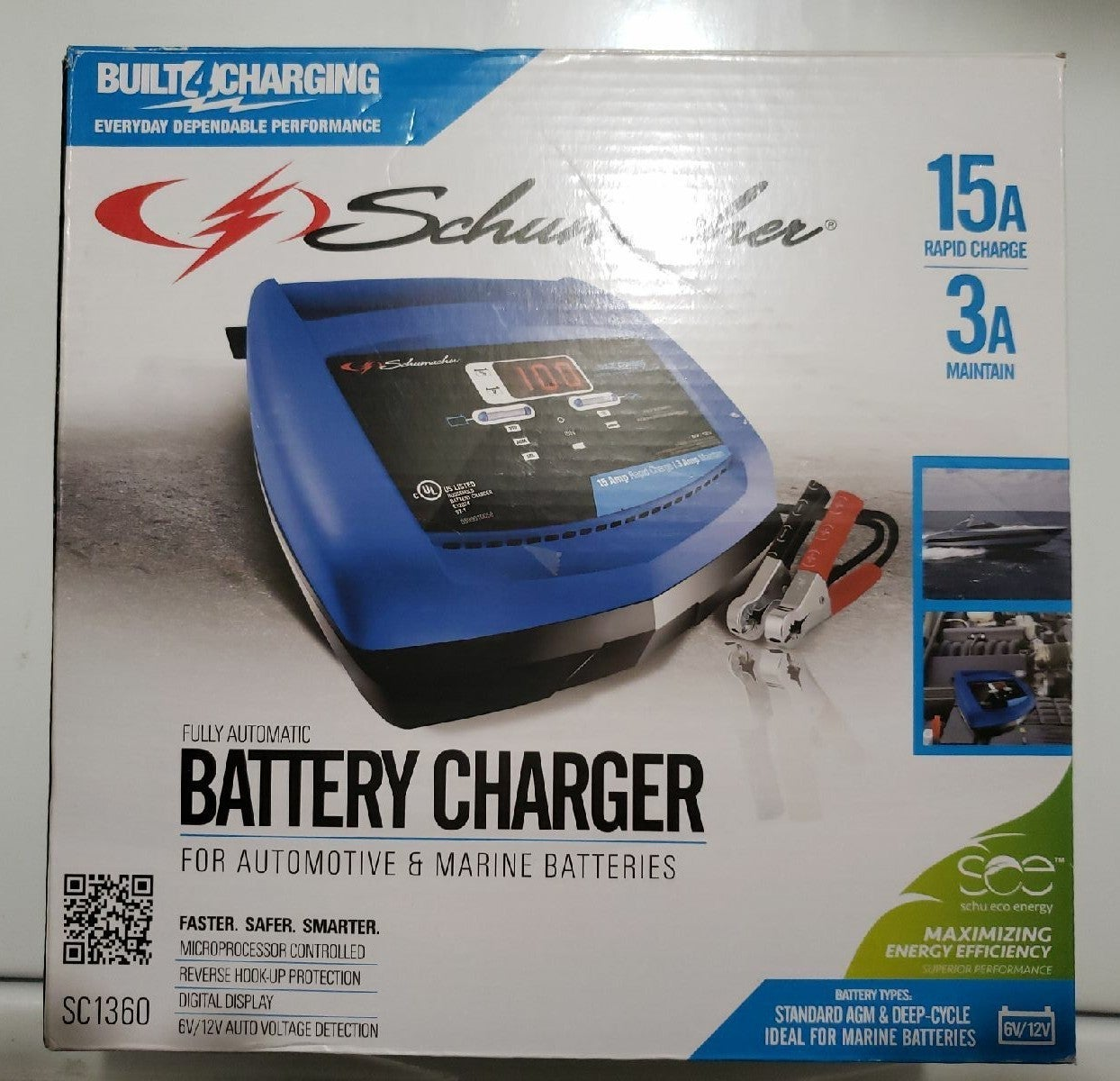 Marine and automobile charger