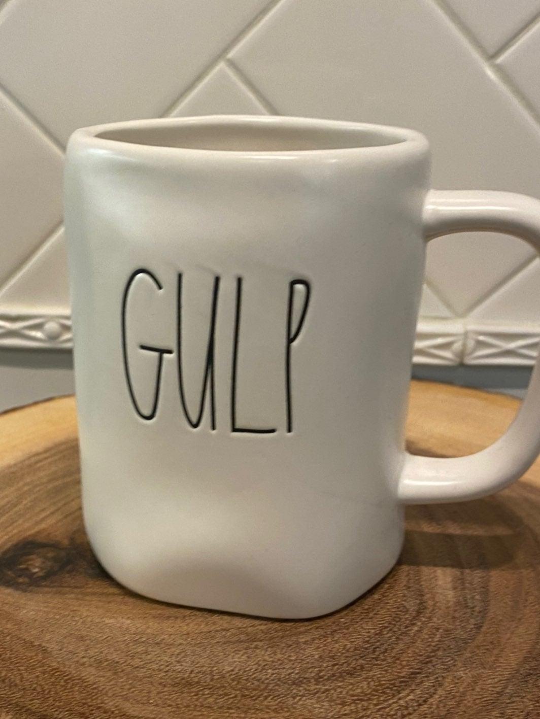 "RAE DUNN ""Gulp"" Mug New with tag!"