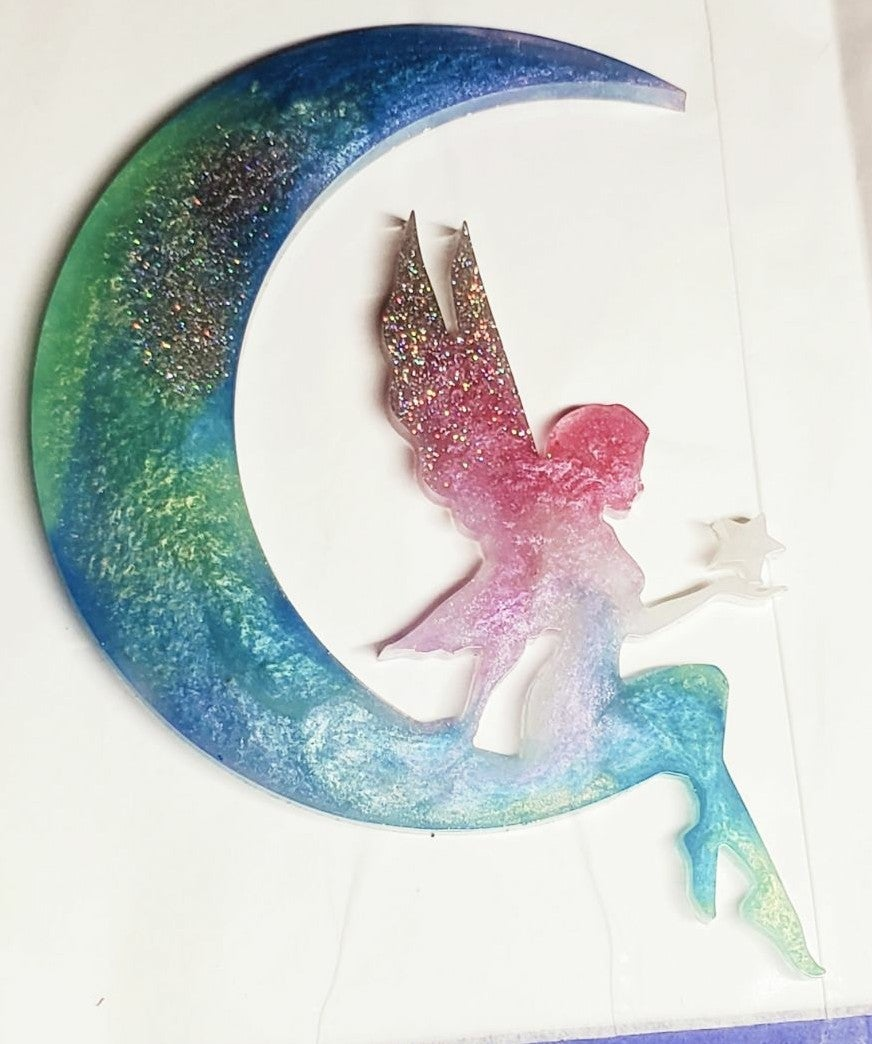 Tinkerbell on the moon