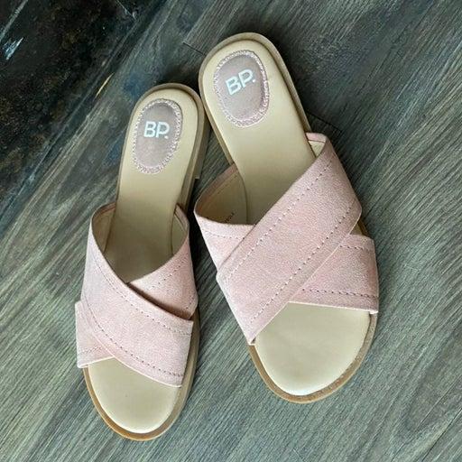 BP winnie criscross strap sandal