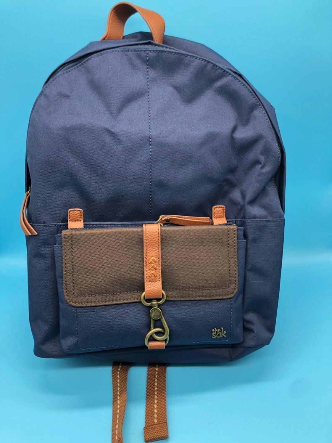 The Sak Global Trotter Navy Blue Backpac