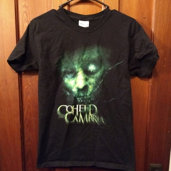 COHEED & CAMBRIA T-SHIRT Rock Music Band