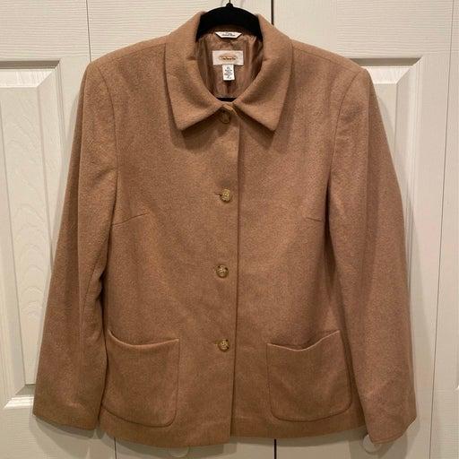 Talbots Pure Camel Hair Coat — 10