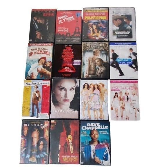 14 DVD 1 BLUE RAY Movies Bundle GUC
