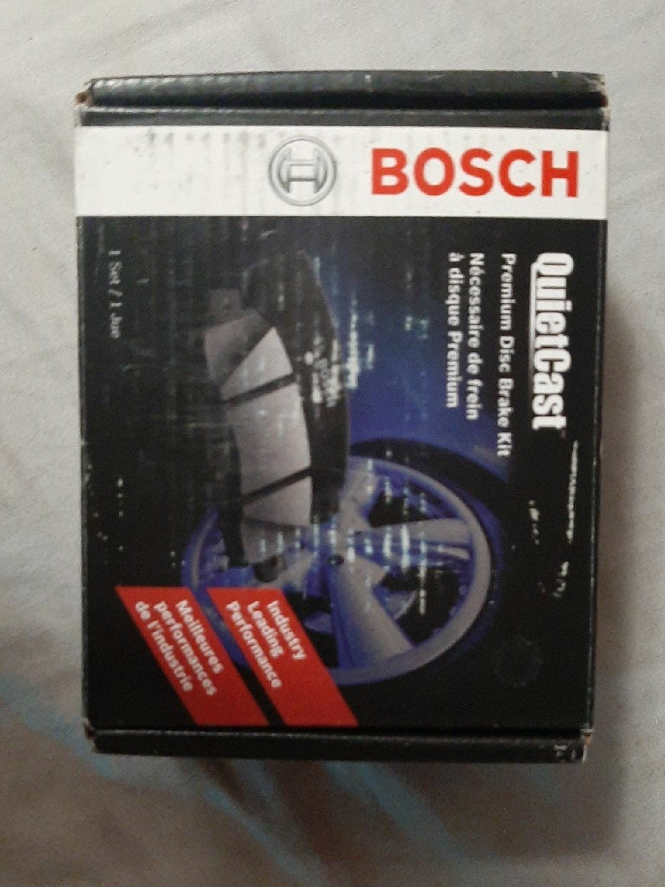 Bosch quiet cast ceramic disc brake set