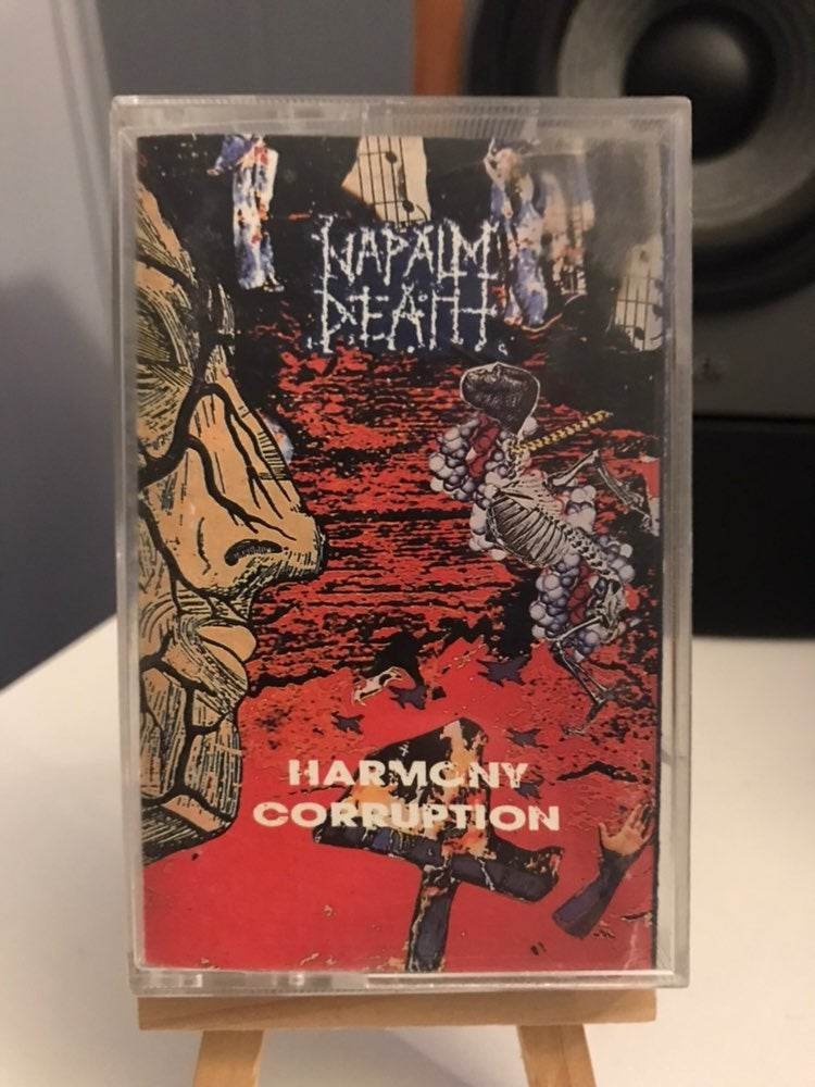 NAPALM DEATH Harmony Corruption TAPE