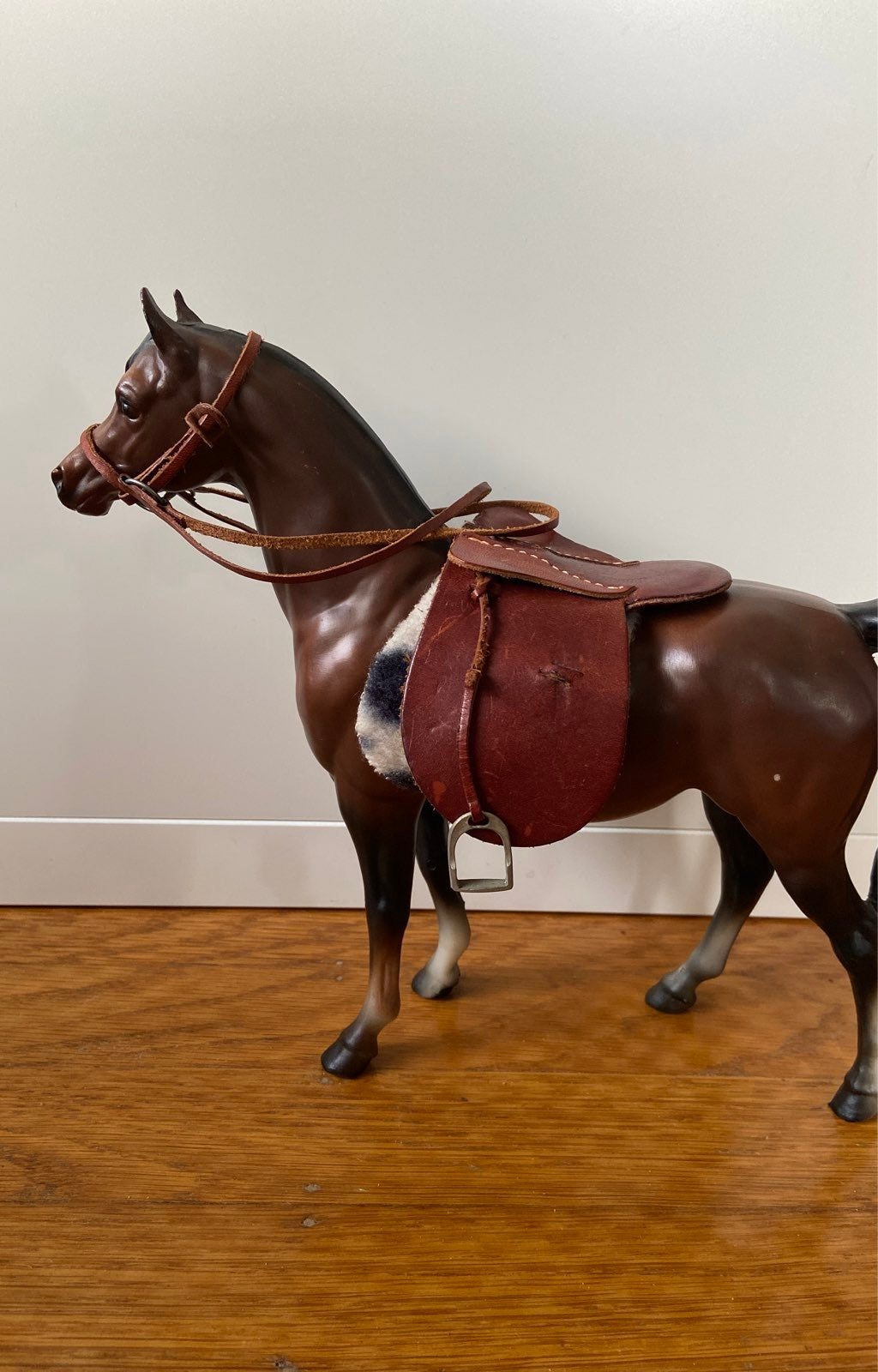 Saddle, bridle, and saddle pad