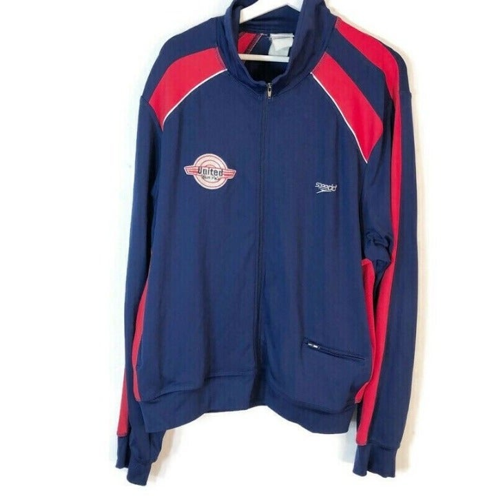 Speedo Vintage Mens XL Water Polo Jacket