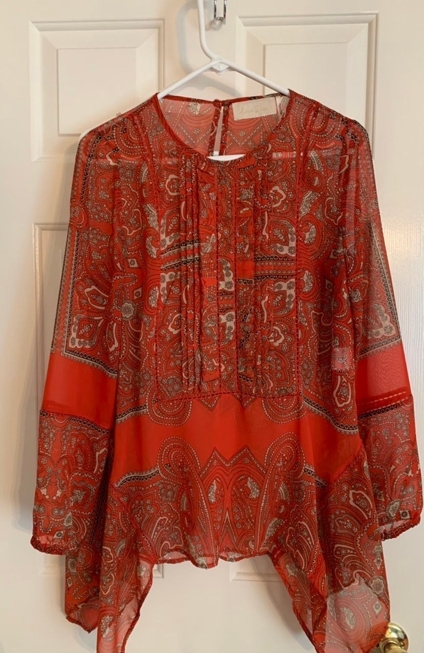 Anthropologie blouse with cami