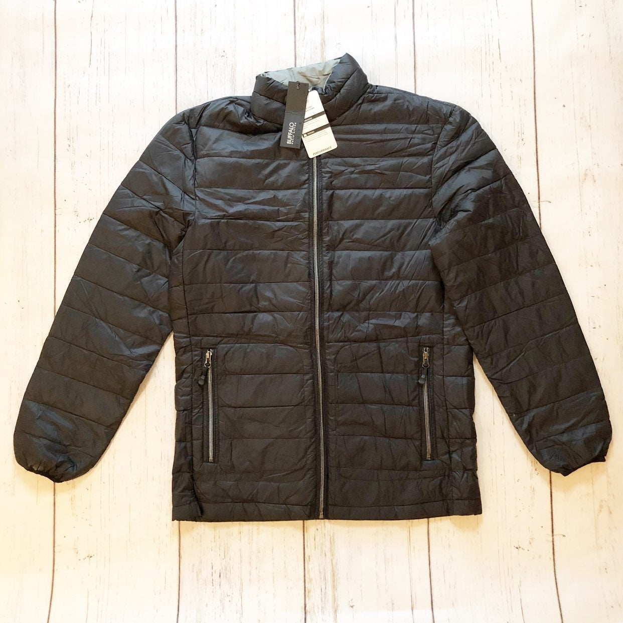 Buffalo David Bitton black puffer jacket