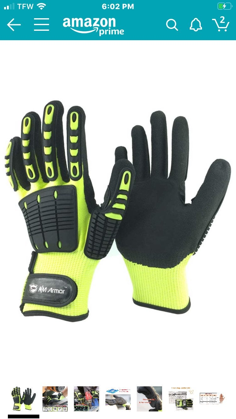 Anti Vib Oil-proof Cut Resistant Gloves