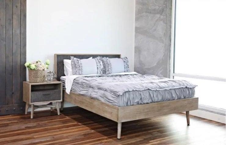 Beddy's Chic Gray Bedding Set GOOD