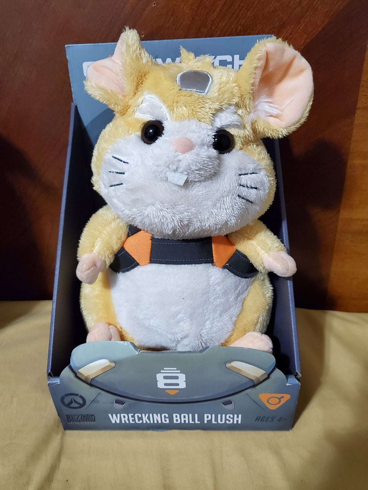 Overwatch Wrecking Ball Plush