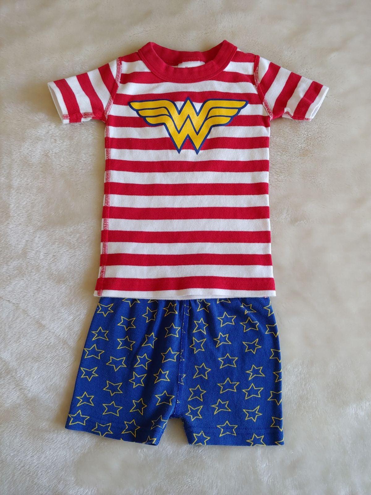 Hannah Andersson Wonder Woman pajamas 3
