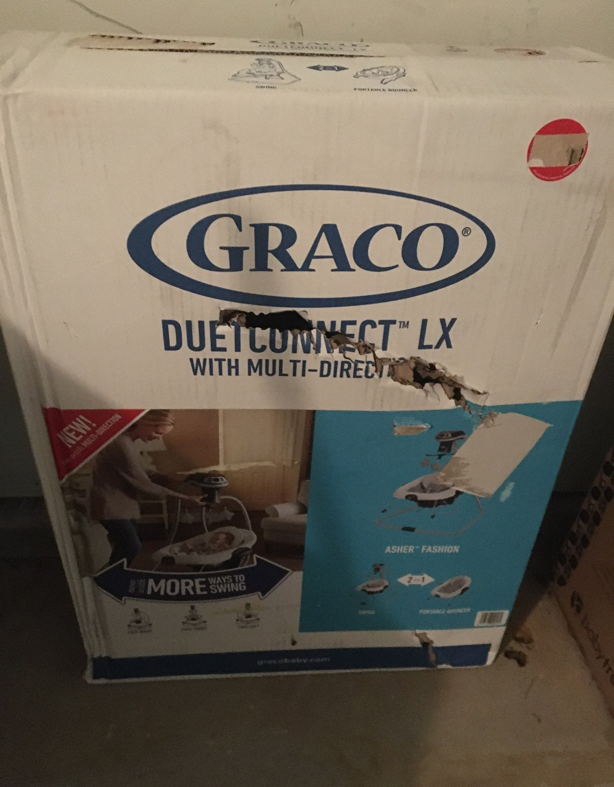 Graco duet connect lx with multi directi