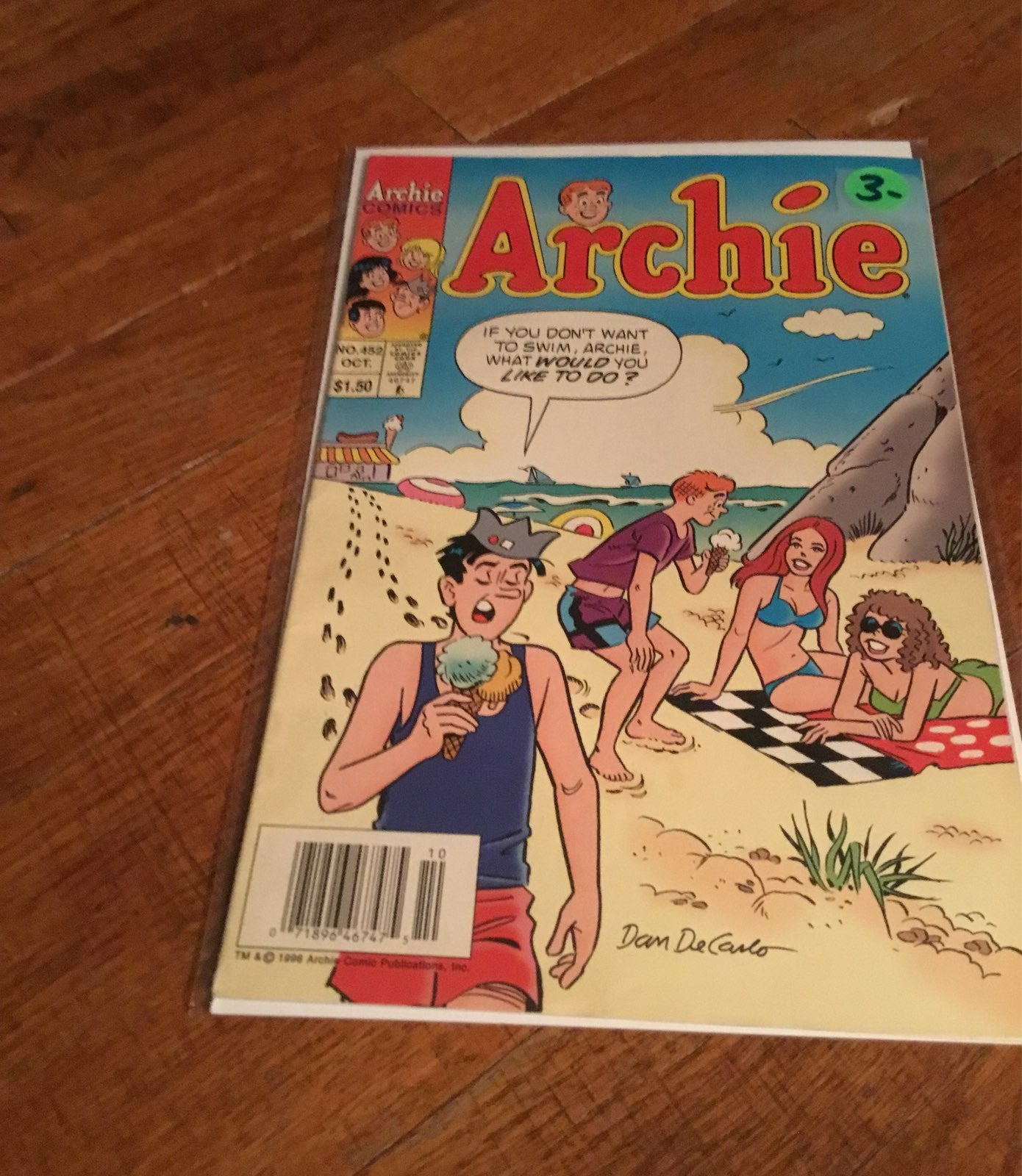 archie comic no. 452